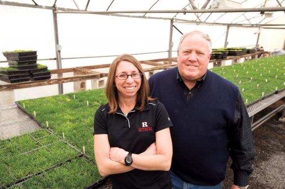 Rutgers Scientists Breeding Turfgrass That Can Be Irrigated with Treated Wastewater: Newsroom