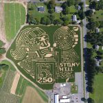 Rutgers 250 Celebrated in a Corn Maze!