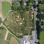 Rutgers 250 Celebrated in a Corn Maze!