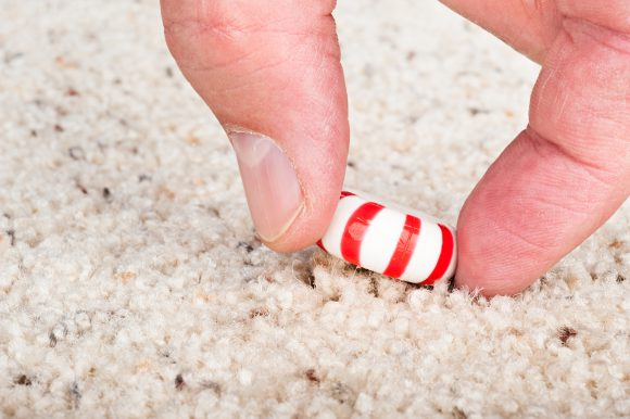 Researchers found carpet has very low bacteria transfer rates compared with those of tile and stainless steel. Photo: Shutterstock/Joe Belanger