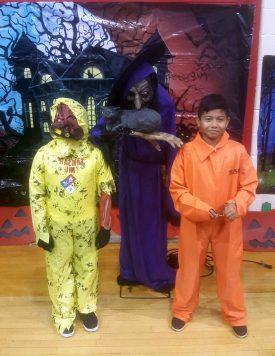Monster Mash creepy costumers. Photo by Samuel Ludescher.