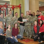 Rutgers CHHP Appointed as Lifetime Member of the US Army's 3-314th Field Artillery Thunder Battalion
