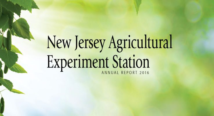 2016 NJAES Annual Report Available for New Jersey Stakeholders