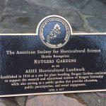 Rutgers Gardens Receives Prestigious National Horticultural Landmark Award