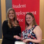 Chrysler Herbarium's Megan King Named Undergraduate Student Employee of the Year at Rutgers