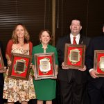 Alumni are Honored with George H. Cook and Dennis M. Fenton Awards