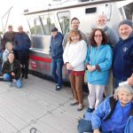 Ahoy There, Matey! Rutgers Environmental Stewards Take Their First Boat Trip on the Raritan River