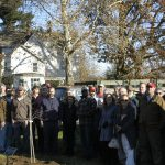 Colleagues, Friends and Family Remember Glenn Tappen at Hort Farm 3 Tree Dedication