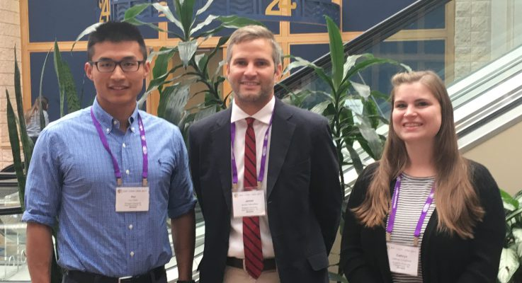 Three Plant Biology Graduate Students Win Awards at Scientific Conferences