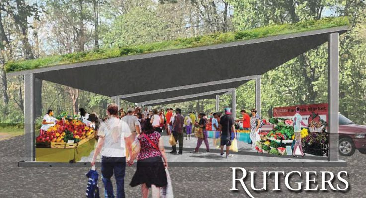 Year-Round Farm Market Under Construction in Rutgers Gardens