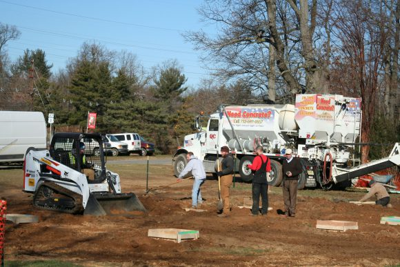 The Official Botanic Garden Of Rutgers: Year-Round Farm Market Under Construction In Rutgers