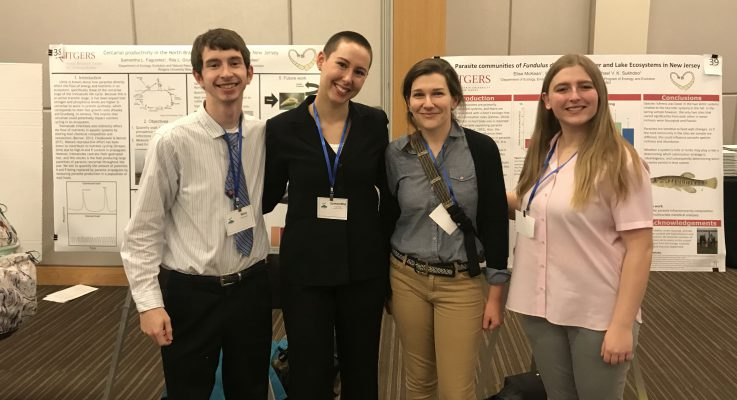 Congratulations to SEBS Undergrad Samantha Fagundez for her First Place Finish at the Mid-Atlantic ESA conference
