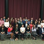 2018 George H. Cook Scholars Granted their Honors Cords
