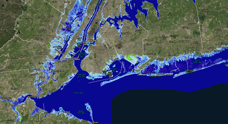 Global Sea Level Could Rise 50 Feet by 2300, Says Study Managing Coastal Risk
