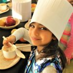 Little Chefs Help Make Fruit Soup to Celebrate Winter Solstice