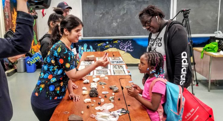 Over 200 Attend Rutgers Family Science Nights