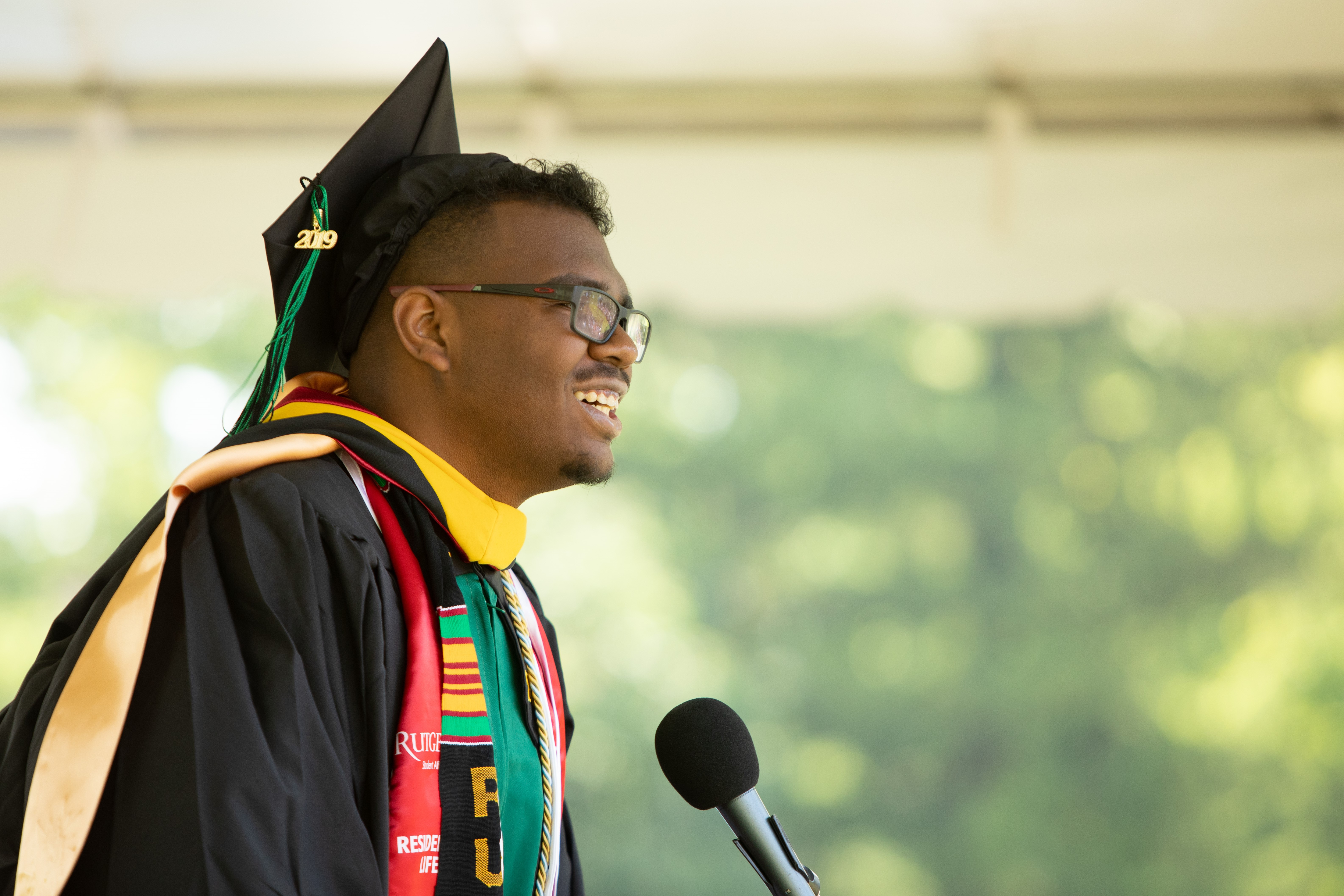 2019 SEBS Convocation Remarks by Class Representative Jean-Pierre Jacob