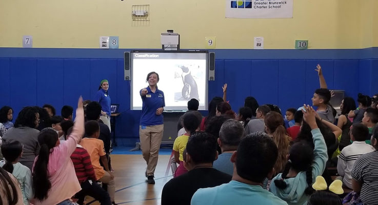 Marine Science Family Night at Greater Brunswick Charter School Attracts Close to 200