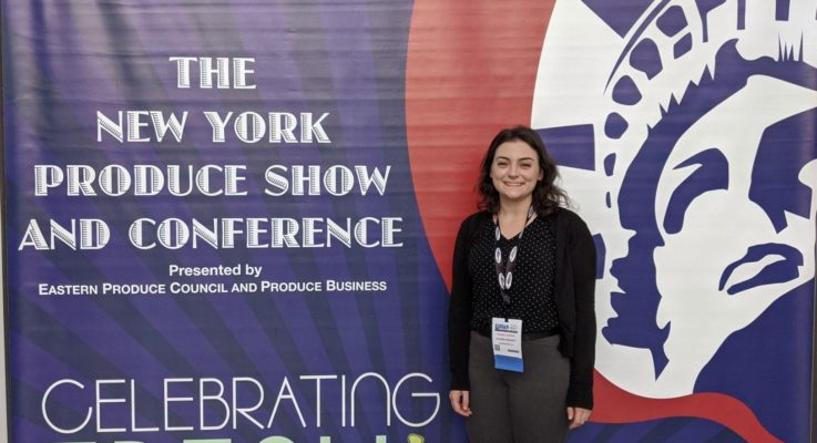 Doctoral Student Regina O'Brien Presents Research at the New York Produce Show and Conference