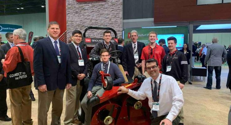 Scarlet Knights Compete in the 2020 GCSAA Turf Bowl