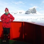 Hailey Conrad interned in Antarctica with the Schofield lab in Antarctica to monitor phytoplankton populations.