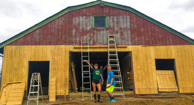 Giving Back: The Story of Somerset County 4-H Teamwork