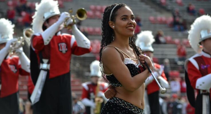 SEBS Senior Tiahna Selby Among Ten Rutgers Students to Perform with the CBDNA Intercollegiate Marching Band