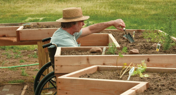 Rutgers Acclaimed Hort Therapy Program Grew From Seed Planted Over 50 Years Ago
