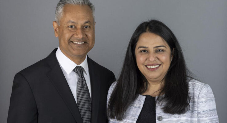 Alumni Donors Navneet and Reema Puri's Personal Journey Inspired their Gift to Support Parkinson's Research at Rutgers